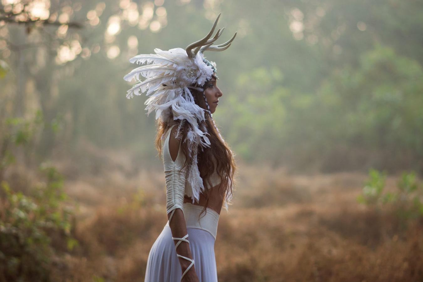 Wild woman archetype deer medicine