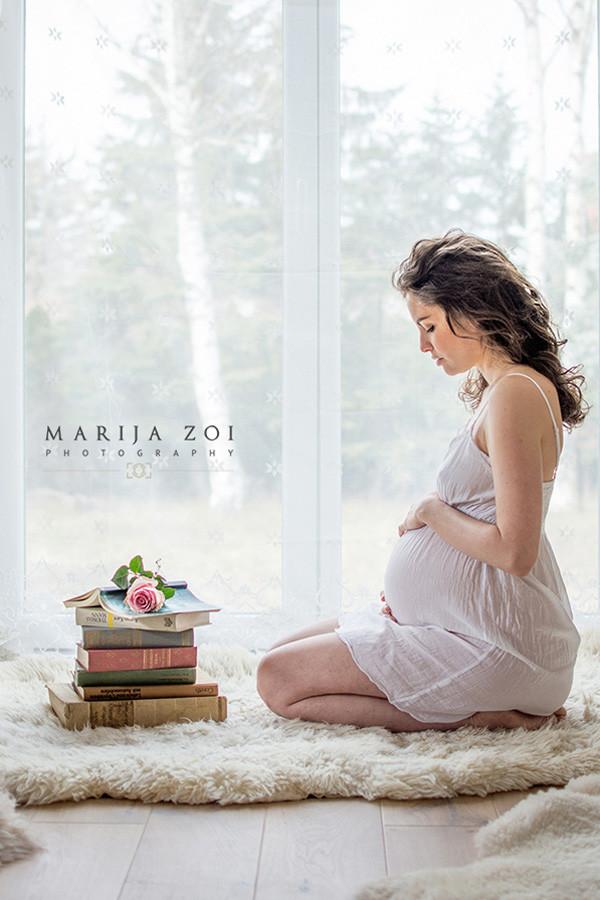 Schwangerschaftsfotos, Schwangerschaftsfotografie von Marija ZOI Photography